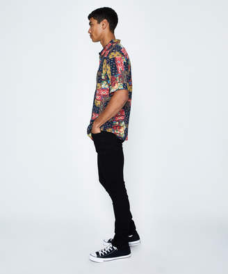 Wrangler Garageland Shirt Patchwork Floral Multi