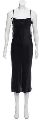 Marysia Swim Silk Slip Dress w/ Tags