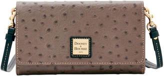Dooney & Bourke Ostrich Daphne Crossbody Wallet