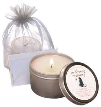 ONLINE 083001 luxepets In Loving Memory, Pet Lovers Cat Memorial Candle