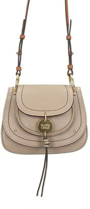 See by Chloe Susie Small Grey Leather Shoulder Bag