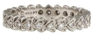 Cathy Waterman Platinum Diamond Continuous Heart Band