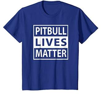 Pitbull Lives Matter Pit Bull Puppy Dog Great T-Shirt Gift
