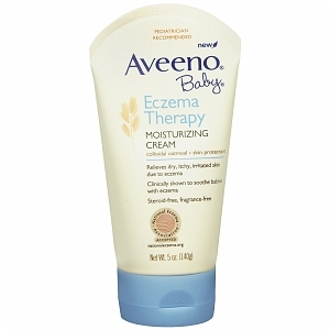 Aveeno Baby Eczema Therapy Moisturizing Cream, Fragrance Free