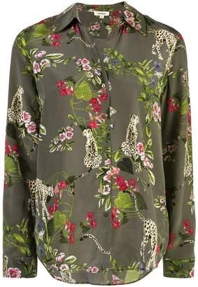 L'Agence floral print shirt