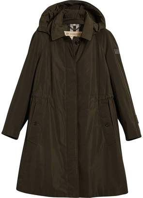 Burberry hooded showerproof coat