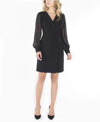 Nanette Lepore Long Sleeves Double Breasted Blazer Dress