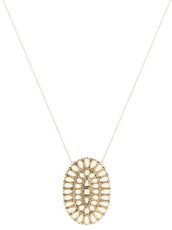 House Of Harlow Stone Accented Pendant Necklace