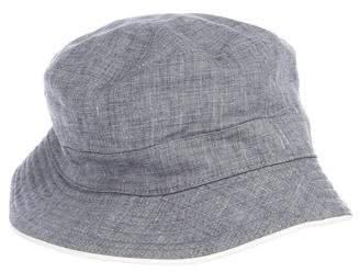 Hermes Chambray Bucket Hat