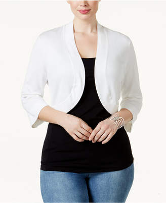Jessica Howard Plus Size Shrug Cardigan c7bf5ca76