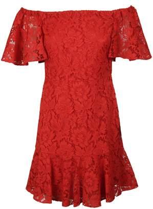 Valentino Guipure Lace Mini Dress
