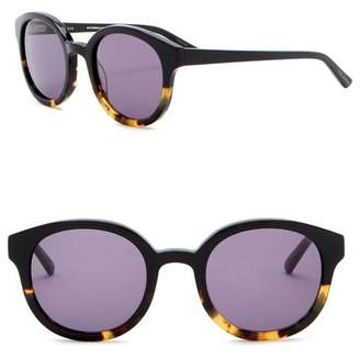 Ted Baker 49mm Round Sunglasses