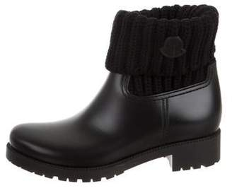 Moncler Rubber Mid-Calf Boots
