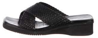 Salvatore Ferragamo Vintage Leather Flat Sandals