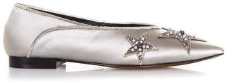 Lola Cruz Palmito Satin Slippers
