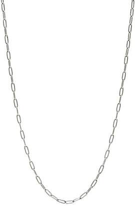 Cathy Waterman Women's Platinum Oval-Link Chain - Silver