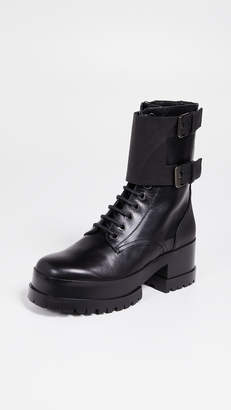 Robert Clergerie Willy Combat Platform Boots