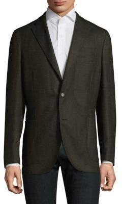 Boglioli Buttoned Wool Sportcoat