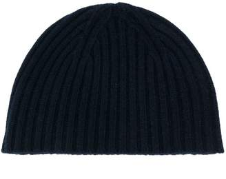7980f75a885 Pringle ribbed cashmere beanie hat