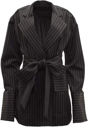 Michael Lo Sordo Deconstructed Wrap Blazer