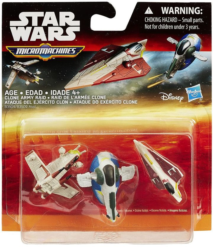 Hasbro Star Wars: Episode II Attack of the Clones Micro Machines 3-pk. Clone Army Raid Set by Hasbro