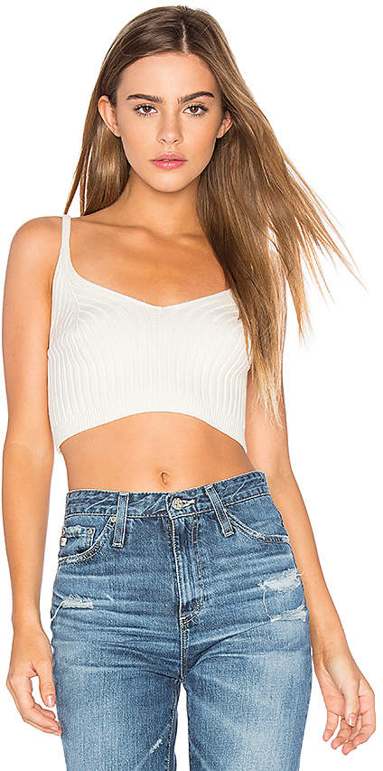 Free People Corset Detail Swit Cami in Black