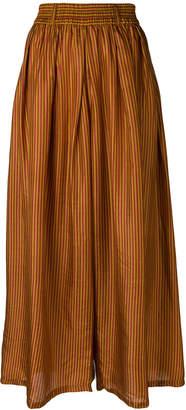 Mes Demoiselles striped full skirt