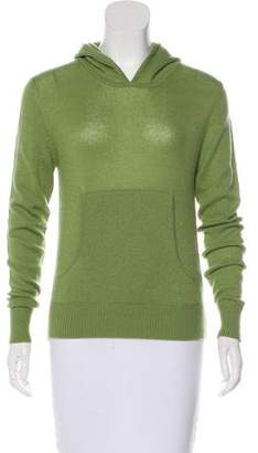 Armand Diradourian Cashmere Hooded Sweater