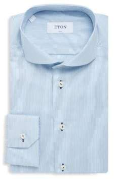 Eton Barrel Cotton Dress Shirt