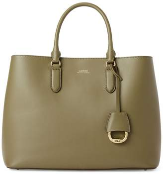 Lauren Ralph Lauren Leather Satchel