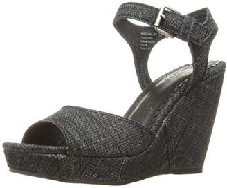 Naughty Monkey Women's Block Party Wedge Pump