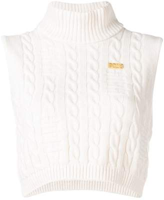 Gcds cable knit top