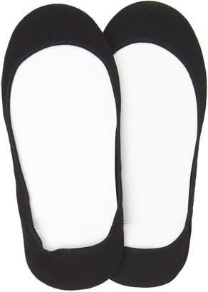 Hue 2-Pair Hidden Cotton Liner Socks