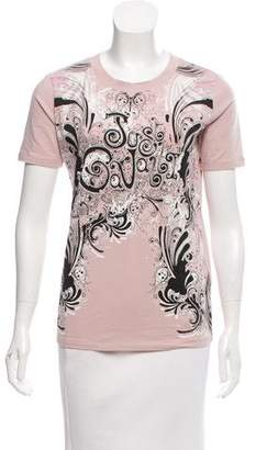 Just Cavalli Graphic Printed T-Shirt w/ Tags