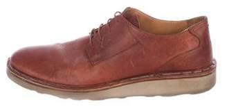 Maison Margiela Leather Derby Shoes