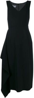 Moschino draped side dress