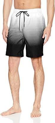 Calvin Klein Men's Gradient Printed Swim Trunk