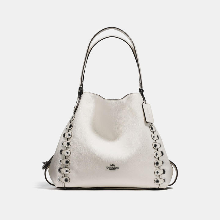 COACH Coach Edie Shoulder Bag 31 With Link Detail