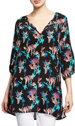a9a70b89679 Tolani Plus Size Dagmar Floral-Print Tunic