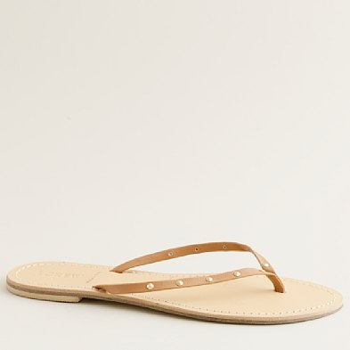 Cairo studded capri sandals