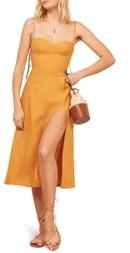 Reformation Nebraska Linen Dress