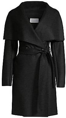 Harris Wharf London Women's Virgin Wool Trench Coat