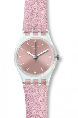 Swatch Ladies Pinkindescent Watch LK354C