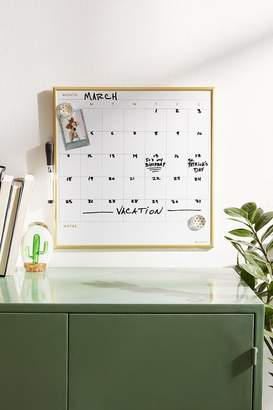 Dry Erase Calendar Message Board