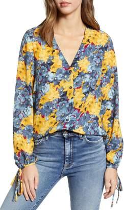 Vero Moda Mille Floral Print Top