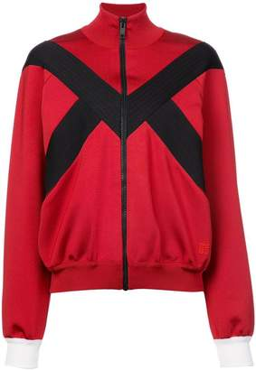 Givenchy stripe detail zipped jacket