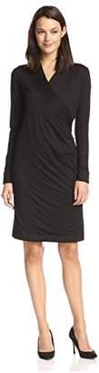 James & Erin Women's Wrap Dress