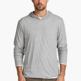 James Perse HIGH GAUGE DOUBLE LAYER HOODIE
