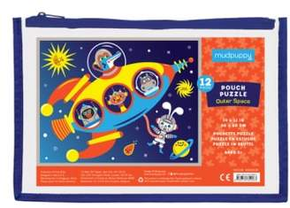 Chronicle Books 12-Piece Outer Space Pouch Puzzle