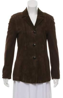 Versace Suede Leather Jacket
